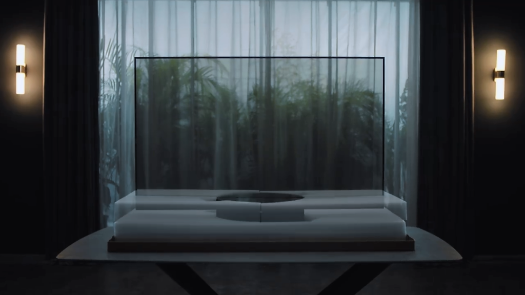 Why Xiaomi created Transparent OLED TV?