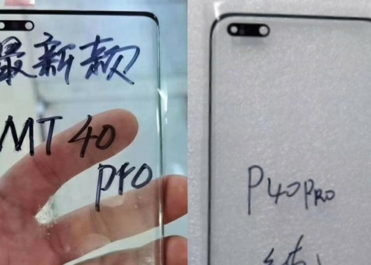 Huawei Mate 40 Pro front screen