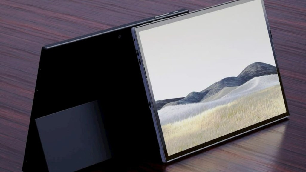 Microsoft Surface Pro 8 3D Rendering