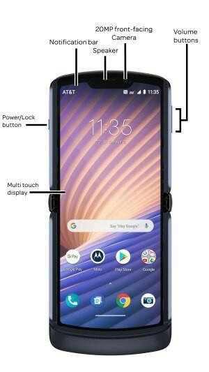 Motorola Razr 5G Design