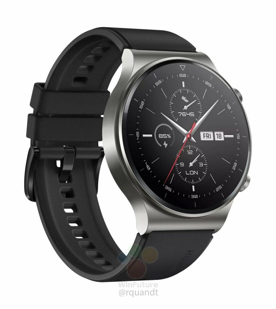 Huawei Watch GT2 Pro Rendering