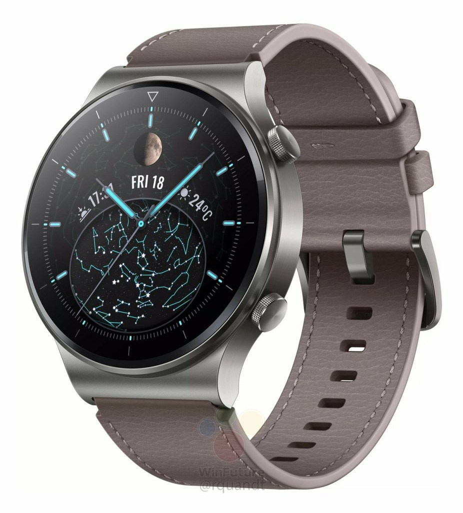 Huawei Watch GT 2 Pro Official Rendering