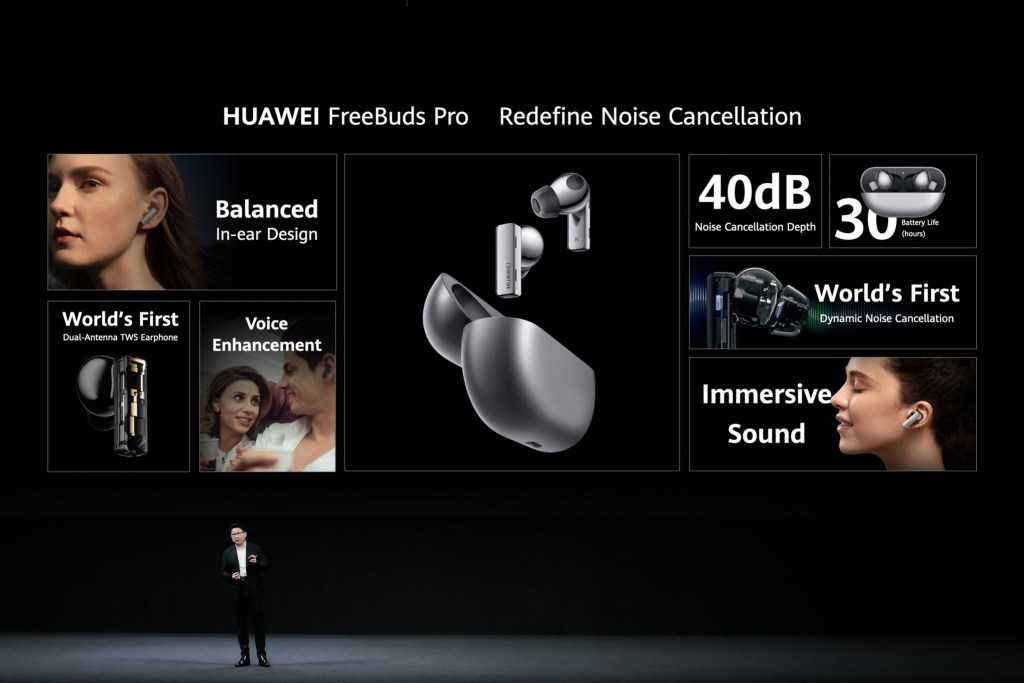 Huawei Freebuds Pro features