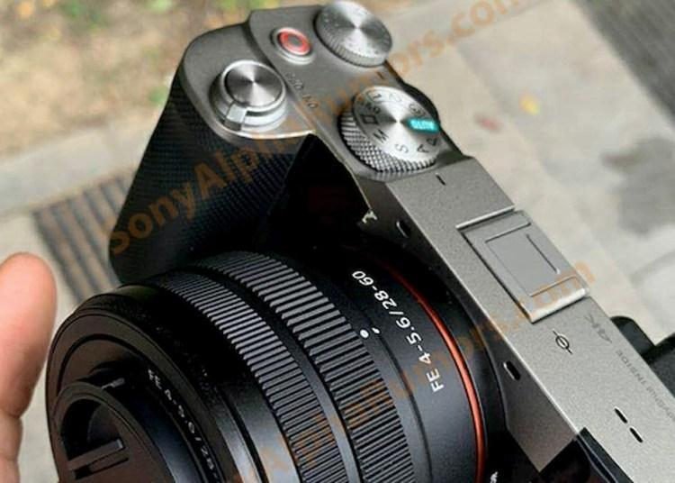 Sony Alpha A7c live photo
