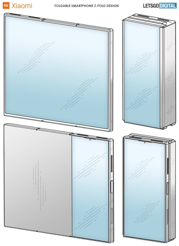 Xiaomi Foldable Phone Patent