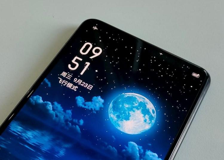 Realme Under Display Camera Phone Prototype