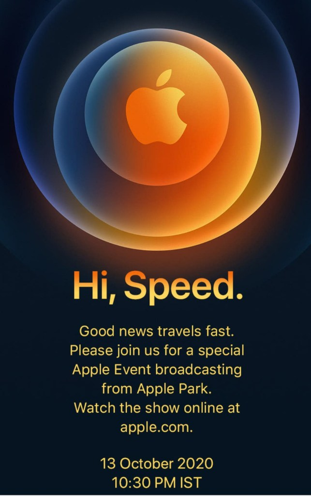 Launch Event For iPhone 12 Series