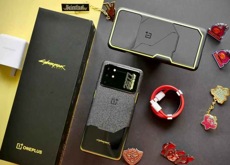 OnePlus 8T Cyberpunk 2077 limited edition price and availability
