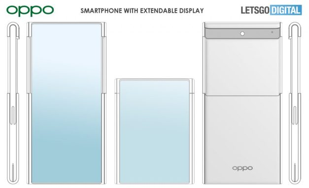 Oppo Retractable Display Phone Patent