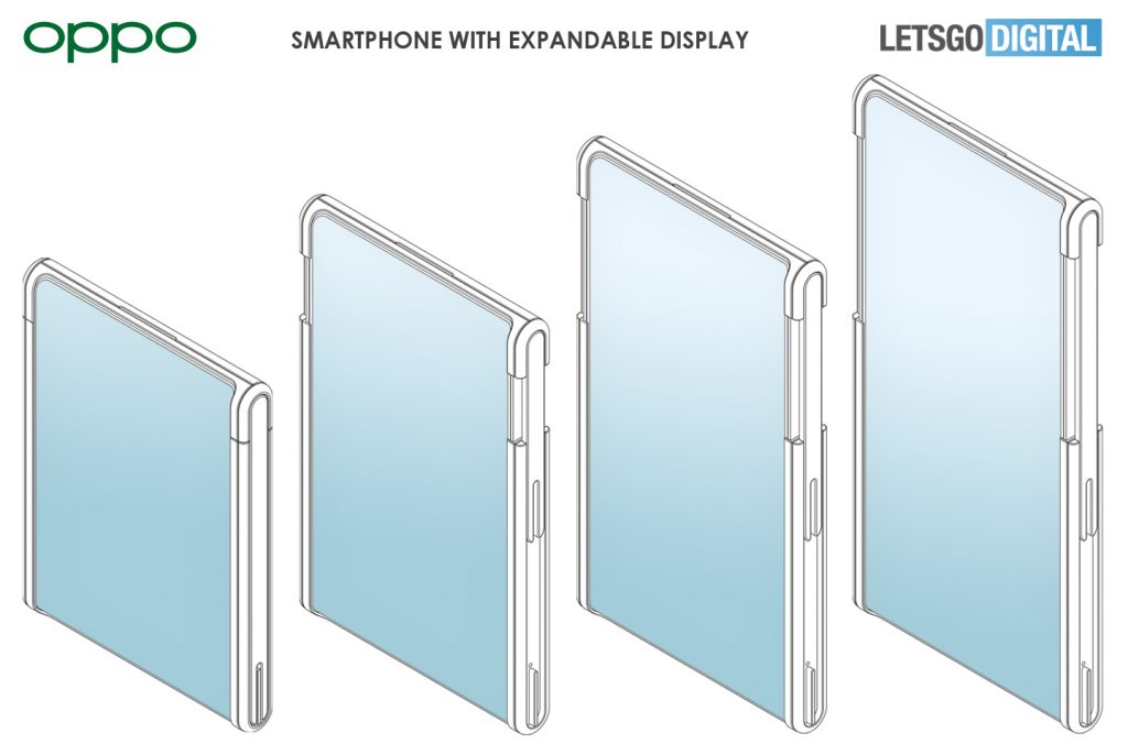 Oppo expandable Display Phone Patent