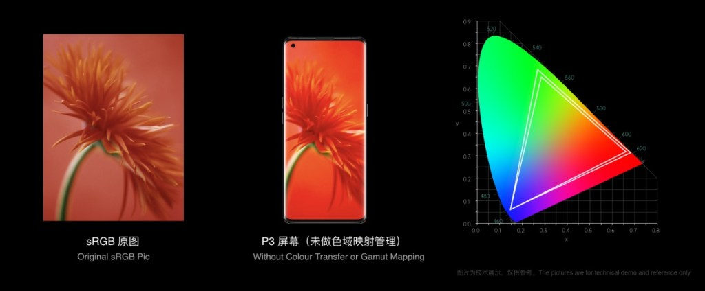 Oppo Find X3 Series Display Features