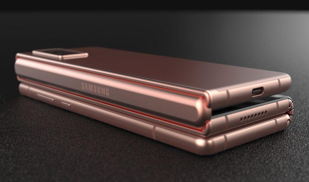 Samsung Tri-fold a.k.a. Samsung Galaxy Z Fold 3 Rendering