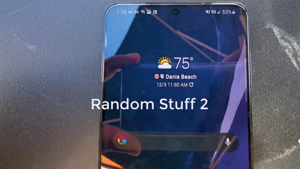 Samsung Galaxy S21 Plus hands-on video