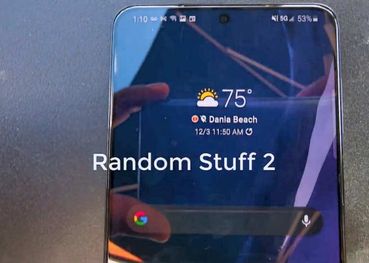 Samsung Galaxy S21 Plus hands-on video