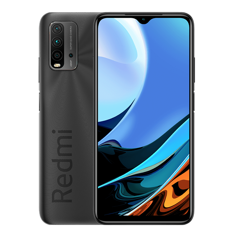 Redmi Note 9 Power in black color