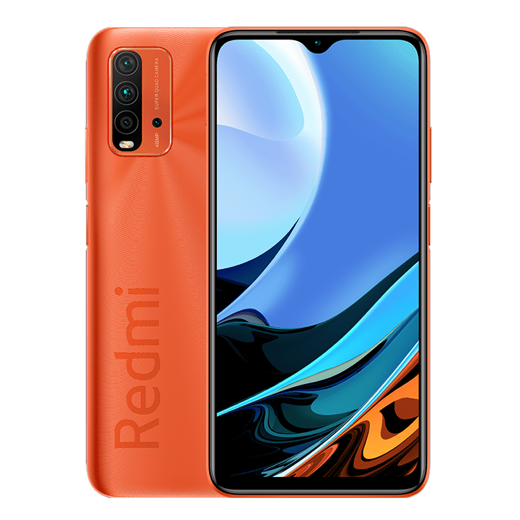Redmi 9 Power in red color