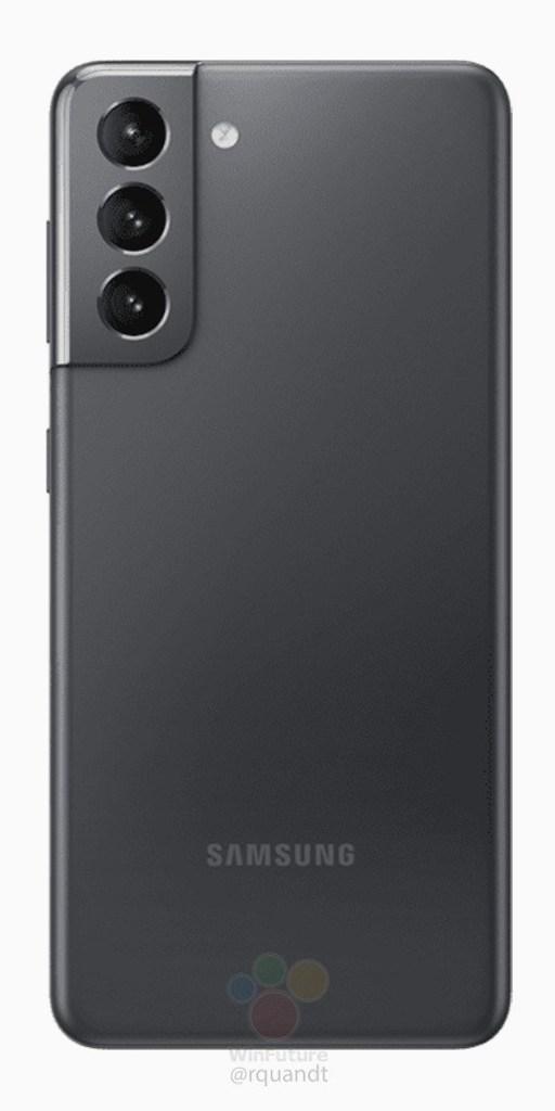 Galaxy S21 Press Rendering