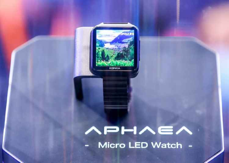 Konka Micro LED watch