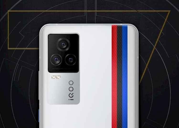 iQOO 7 First Look, iQOO 7 Official Poster, iQOO 7 BMW edition