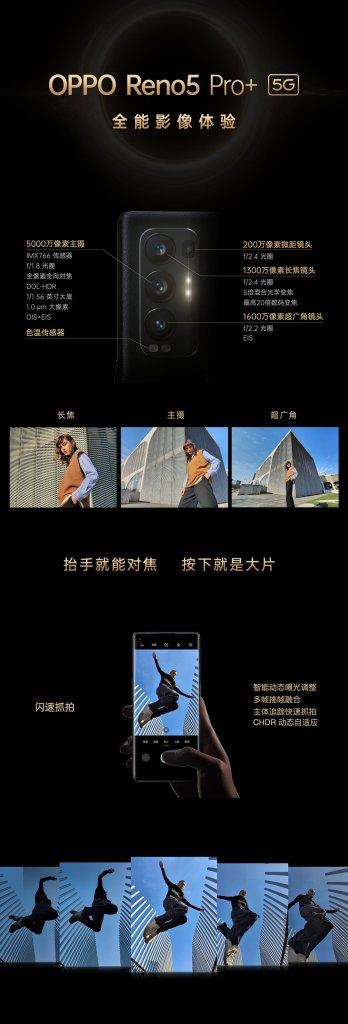 Oppo Reno5 Pro+ Camera, Sony IMX766 Specifications