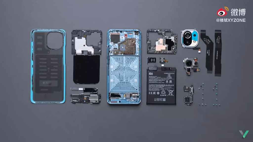 Xiaomi 11 Teardown Video