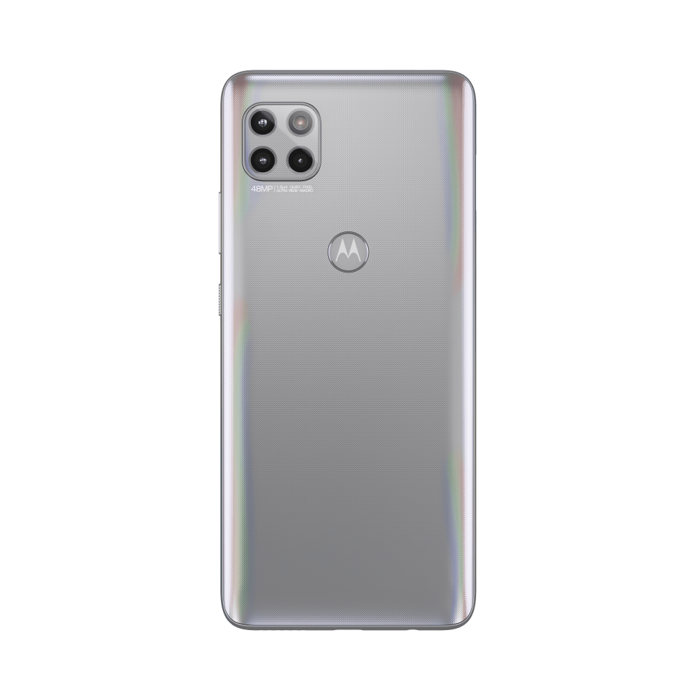 Moto One 5G Ace in Frosted Silver