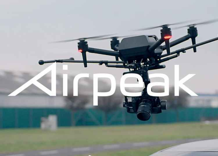 Sony Airpeak Drone Product images