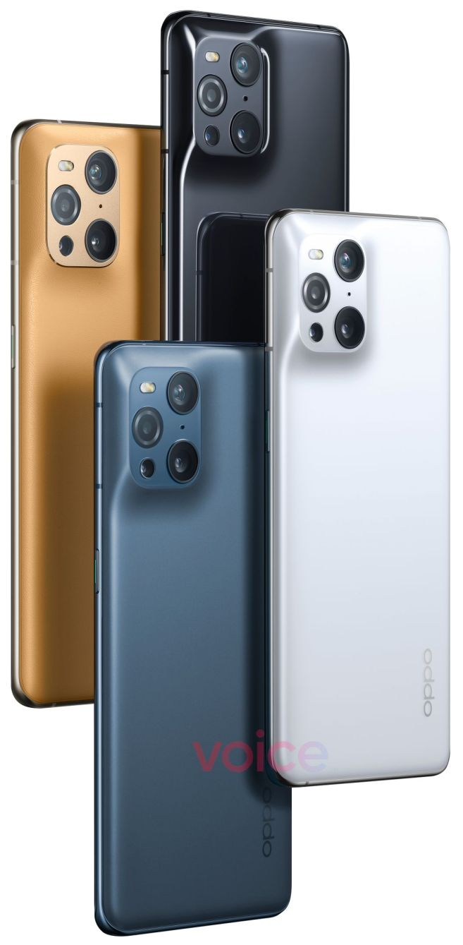 Oppo Find X3 Pro Official Images