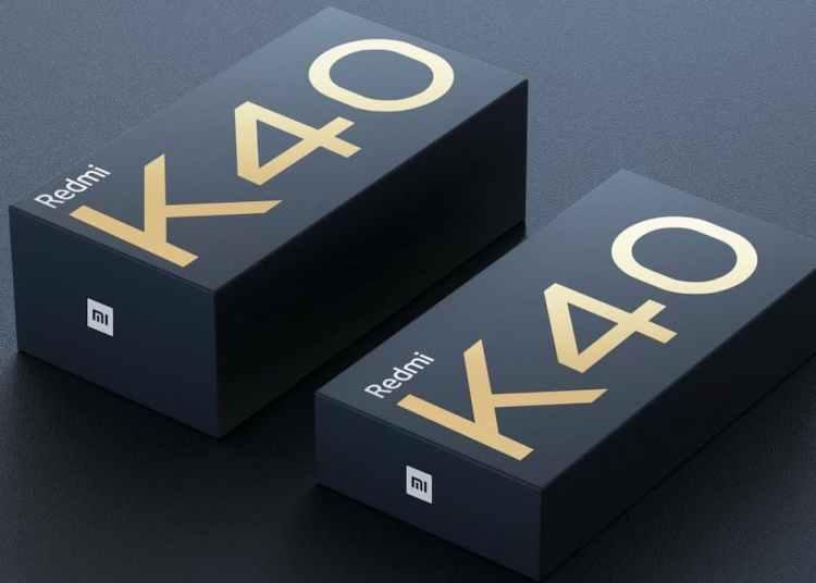 Redmi K40 packaging Box