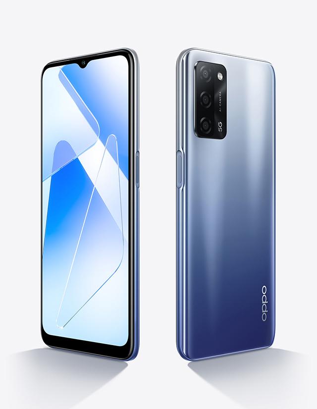 Oppo A55 5G Brisk Blue