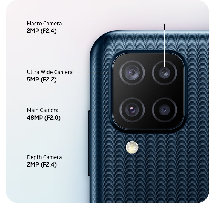 Samsung Galaxy M12 Camera