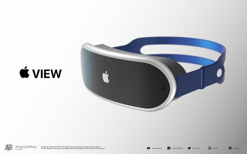 Apple MR - Apple Mixed Reality Headset Concept Rendering