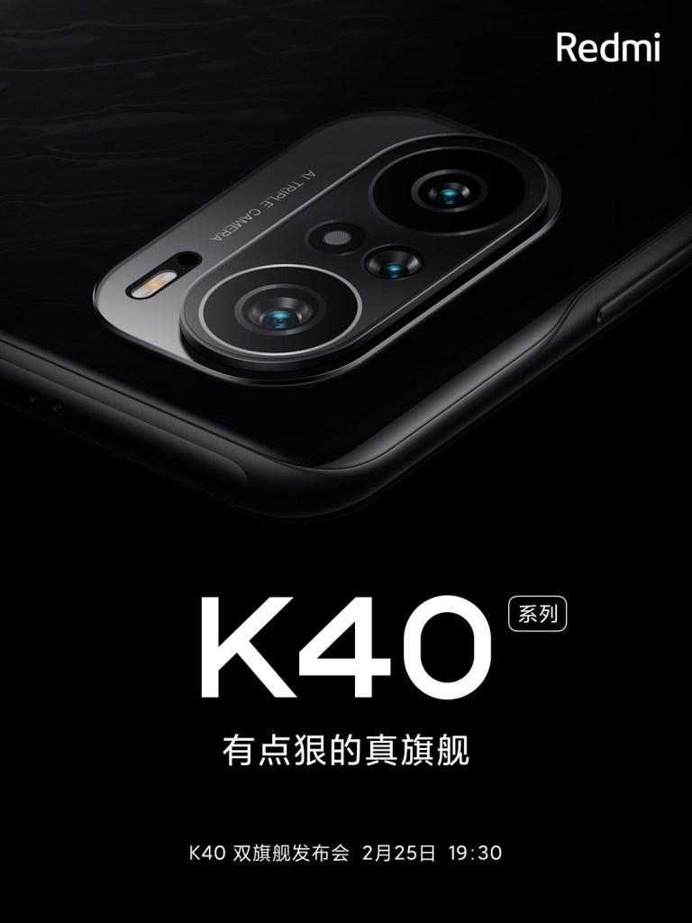 Redmi Officially Reveals Redmi K40 Design