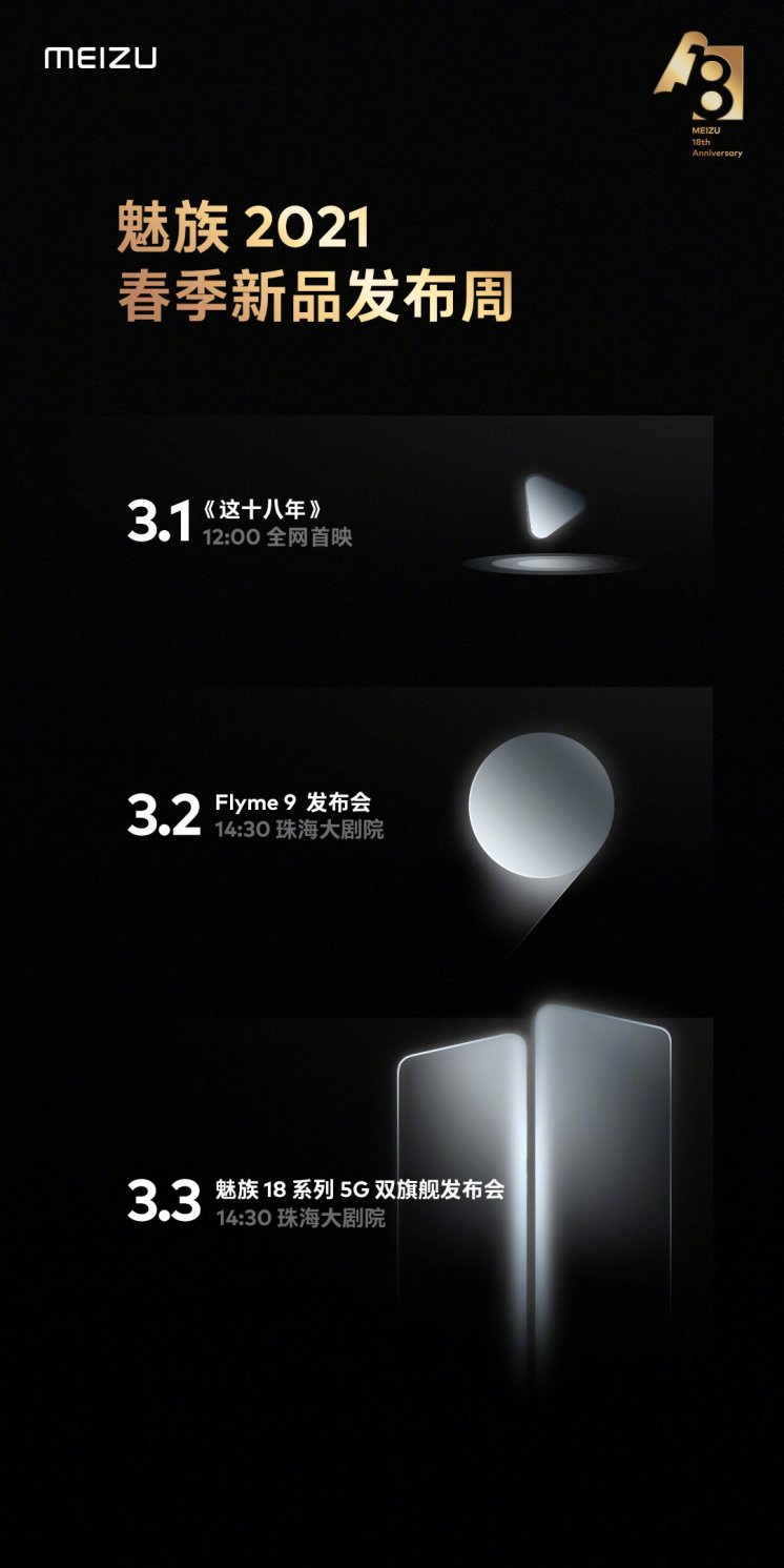 Meizu 18 Release Date Announced: Flyme 9 OS Joining Together