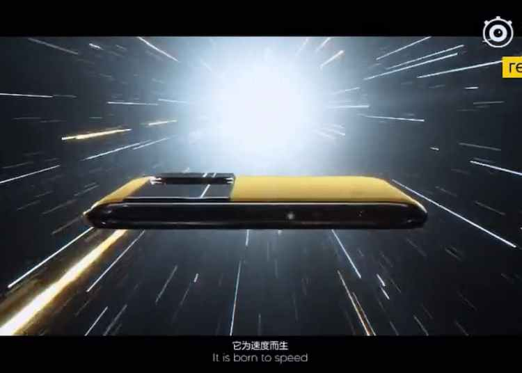 Realme GT Official Trailer featuring Racing Yellow