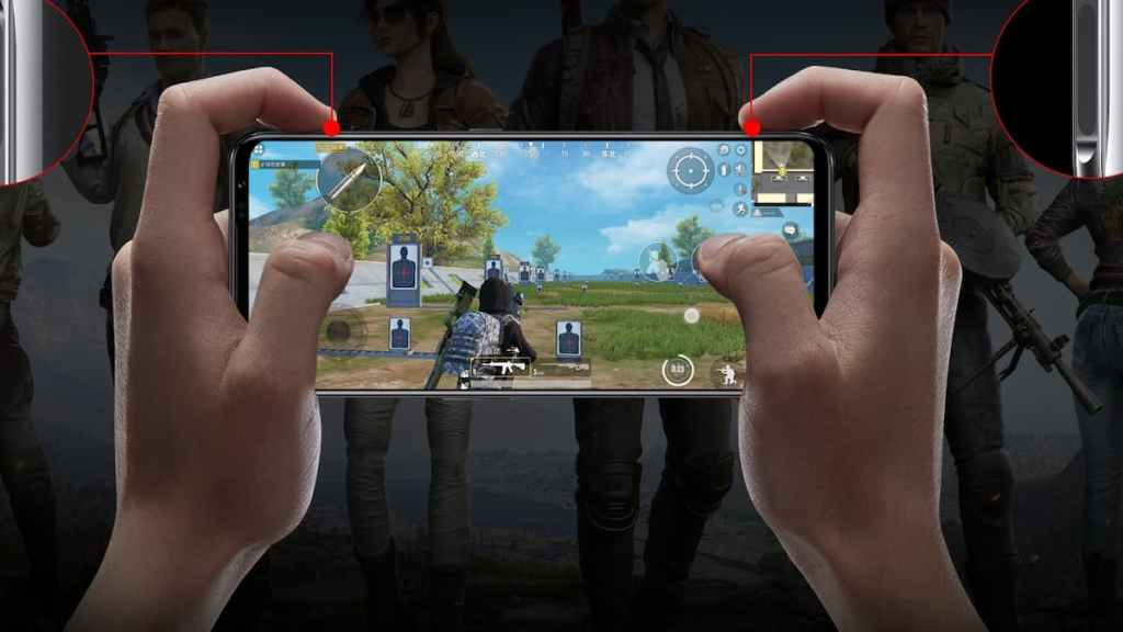 Red Magic 6 Pro with 165hz OLED display