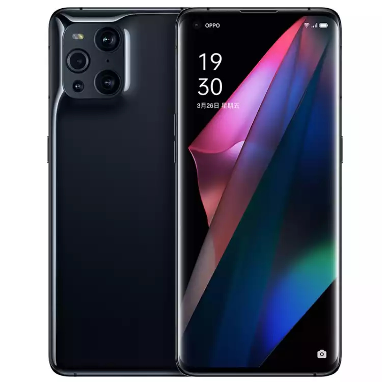 Oppo Find X3 Official Rendering