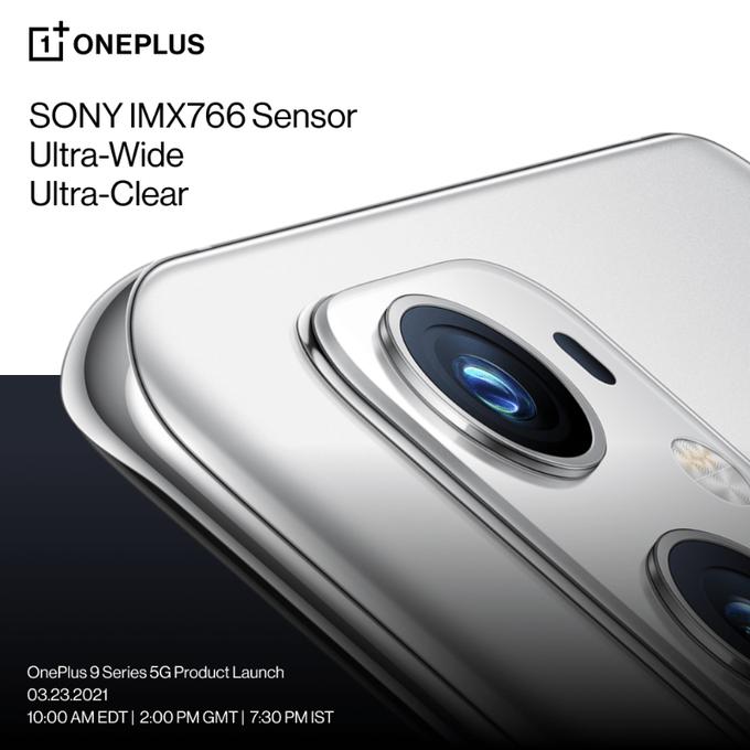 OnePlus 9 Pro Camera Modules Host IMX766 FFL + IMX789 Dual Main Camera 1