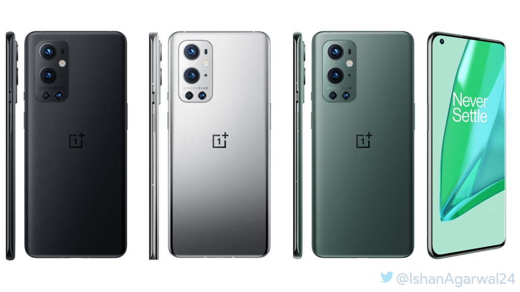 OnePlus 9 Pro Color options: -Astral Black -Morning Mist -Pine Green