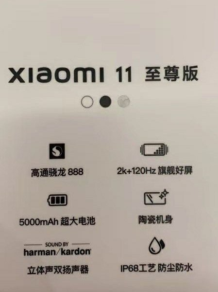Xiaomi 11 Ultra Poster Unveiling Apperance