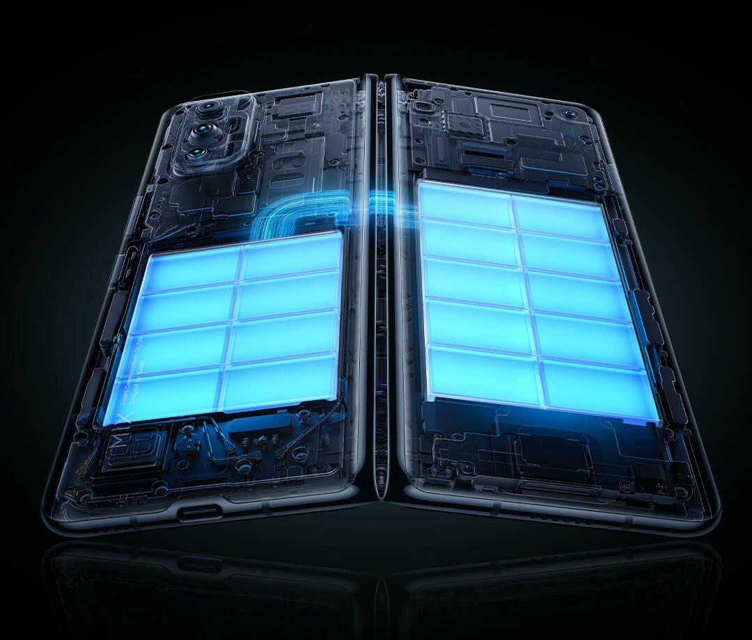 Mi Mix Fold battery