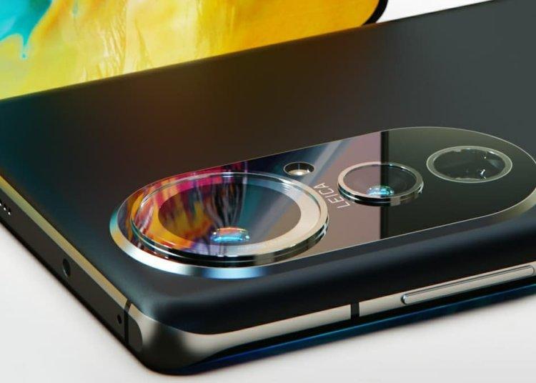 Rendering of Huawei P50 Pro