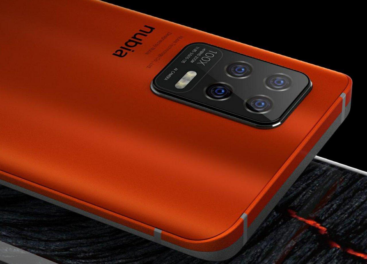 Warm-up for Nubia Z30 Series | Nubia Z30 in Orange Color