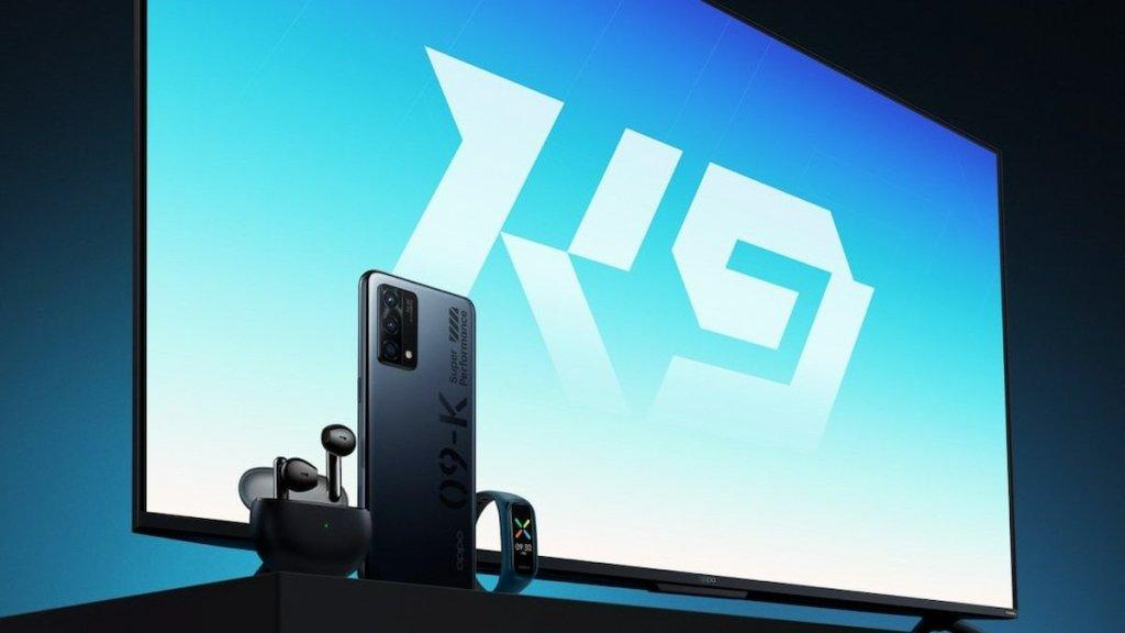 Oppo K9 | Oppo K9 TV Series | Oppo ENCO Air | Oppo Smart Band Life