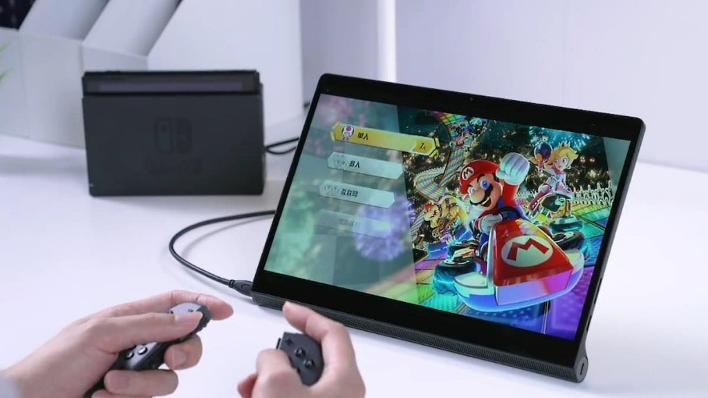 Lenovo YOGA Pad Pro Hands-On Experience Showing Switch External Display