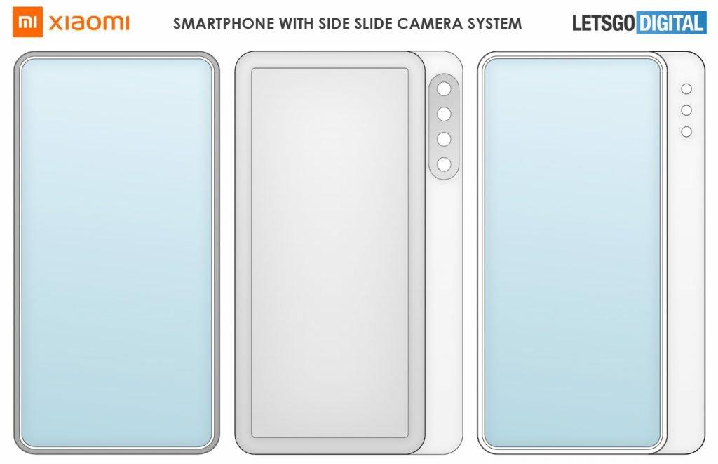 Xiaomi's Dual-side Slider Design Patent