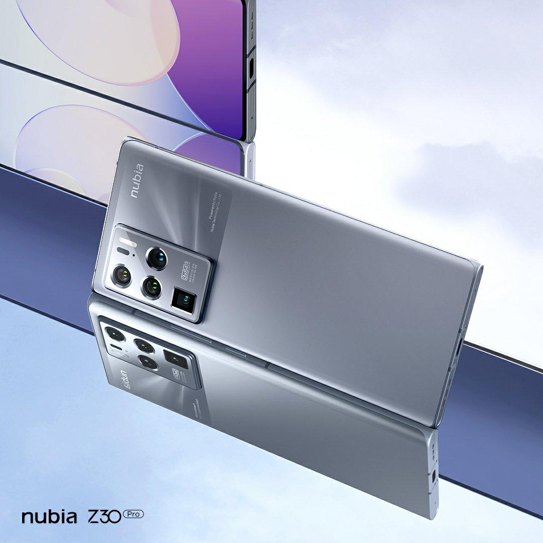 Nubia Z30 Pro Interstellar Silver