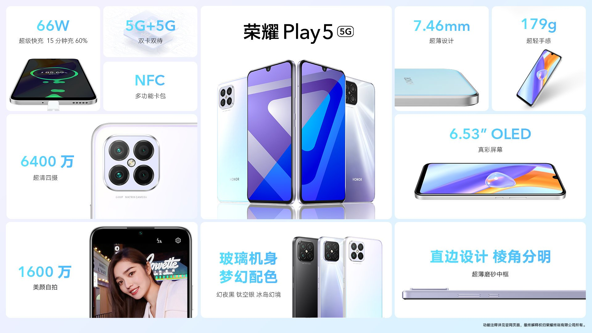 Honor Play 5 Specifications