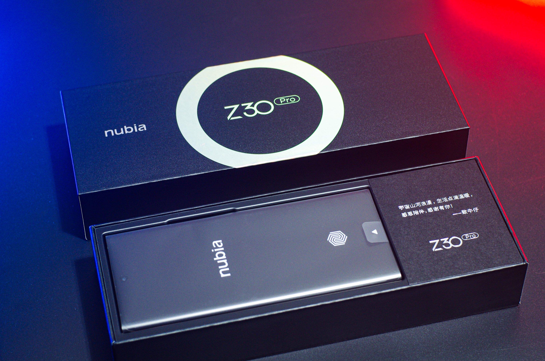Nubia Z30 Pro Packaging
