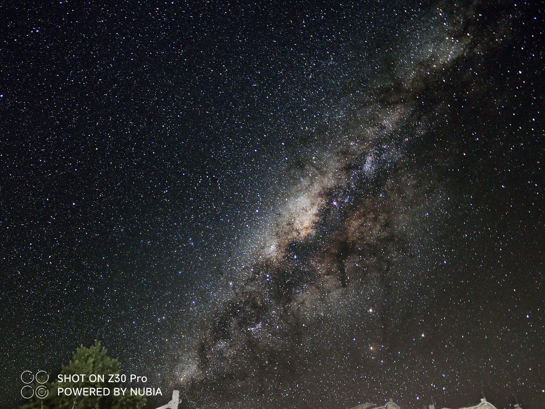 Starry sky second shot (deep effect)